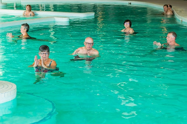 aquatic exercise class